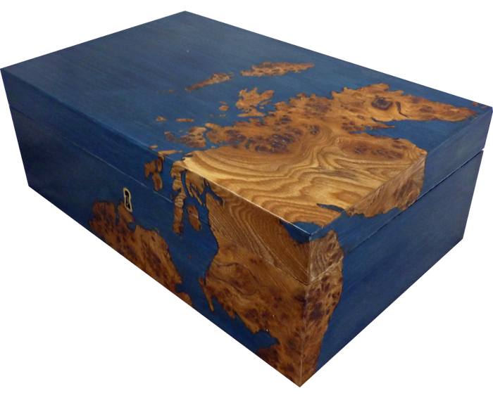 Map of Scotland Jewellery Box